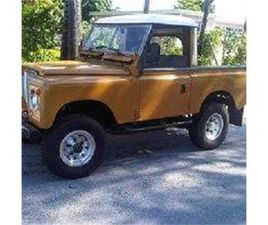 FOR SALE: 1974 LAND ROVER SERIES III IN CADILLAC, MICHIGAN
