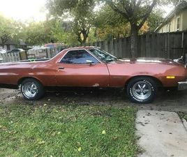 FOR SALE: 1973 FORD RANCHERO IN CADILLAC, MICHIGAN
