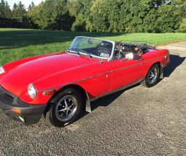 FOR SALE: 1976 MG MGB IN CADILLAC, MICHIGAN