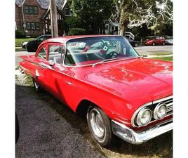 FOR SALE: 1960 CHEVROLET BEL AIR IN CADILLAC, MICHIGAN