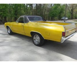 FOR SALE: 1971 CHEVROLET EL CAMINO IN CADILLAC, MICHIGAN