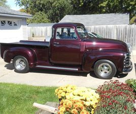 FOR SALE: 1950 CHEVROLET 5-WINDOW PICKUP IN HUDSONVILLE, MICHIGAN