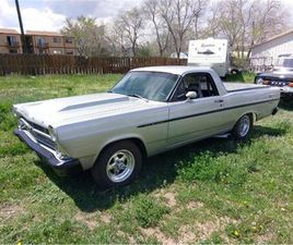 FOR SALE: 1967 FORD RANCHERO IN CADILLAC, MICHIGAN