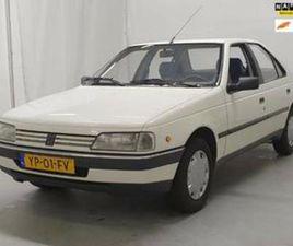 PEUGEOT 405 1.9 GLD ORG NEDERLANDSE AUTO EN NOG IN UIT 30-06-1990 AANGEBODEN DOOR MOBILITE