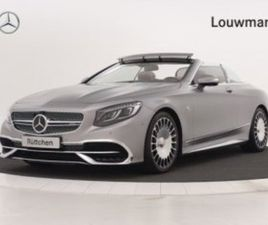 CABRIO 650 MAYBACH | RIJASSISTENTIEPAKKET PLUS | LED-INTELLIGE...