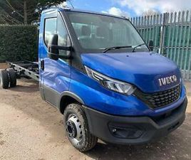 2021 IVECO DAILY 70C180H 180HP MANUAL BLUE RECOVERY TRUCK CAR TRANSPORTER