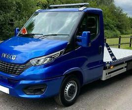 2020 IVECO DAILY 35S180 BHP MANUAL BLUE RECOVERY TRUCK CAR TRANSPORTER