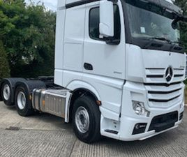 MERCEDES-BENZ ACTROS 2551 TAG AXLE FOR SALE IN WESTMEATH FOR € ON DONEDEAL