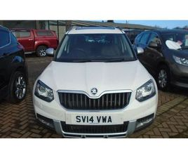 SKODA YETI OUTDOOR LAURIN AND KLEMENT TDI CR 5-DOOR WHITE 2014