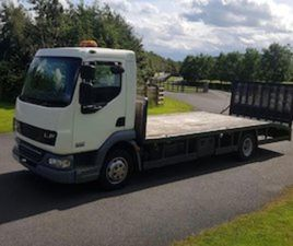 2008 DAF 45/160 20F BEAVERTAIL PLANT BODY FOR SALE IN DOWN FOR € ON DONEDEAL