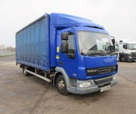 DAF 45/160 2011 18FT CURTAINSIDE & TUCKAWAY T/LIFT FOR SALE IN DOWN FOR € ON DONEDEAL