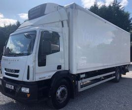 2012 IVECO EUROCARGO 27FT FRIDGE LORRY FOR SALE IN TYRONE FOR € ON DONEDEAL