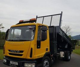 IVECO 2010 10TON TIPPER ONBOARD COMPRESSOR FOR SALE IN DOWN FOR € ON DONEDEAL