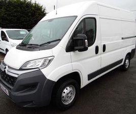 £13,295 | CITROEN RELAY 2.0 BLUEHDI 35 ENTERPRISE L2H2 L2 HIGH ROOF EU6 5DR