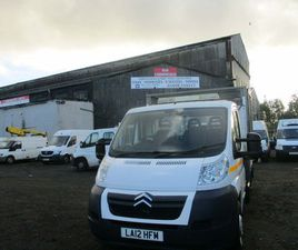 CITROEN RELAY 2.2 HDI L3 C/CAB CAGED TIPPER EURO 6JUST OF COUNCIL CONTRACT