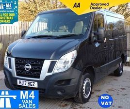 NISSAN NV400 F28 DCI SWB LOW ROOF **NO VAT** BLACK 2017