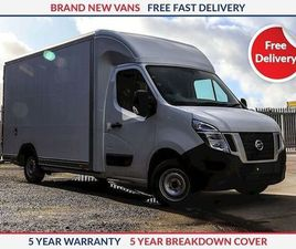 NISSAN NV400 L3 130PS FWD SE LOW LOADER WHITE 2019