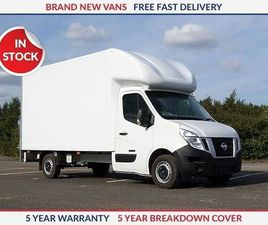 NISSAN NV400 L3 130PS FWD SE LUTON TAIL LIFT WHITE 2019
