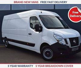 NISSAN NV400 L4 H2 SE 2.3 DCI 145PS TWIN REAR WHEEL WHITE 2019