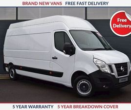 NISSAN NV400 L4 H3 SE 2.3 DCI 145PS TWIN REAR WHEEL WHITE 2019