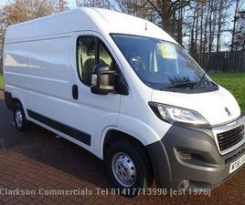 PEUGEOT BOXER BLUEHDI 335 L2H2 PROFESSIONAL (BIG SPEC/ LOW MILEAGE) WHITE 2016