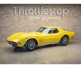 1972 CHEVROLET CORVETTE HEAVILY AWARDED LT1 CONVERTIBLE