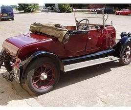 1925 MORRIS OXFORD 2 SEAT AND DICKEY BULLNOSE