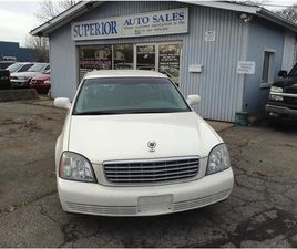 USED 2004 CADILLAC DEVILLE FULLY CERTIFIED!