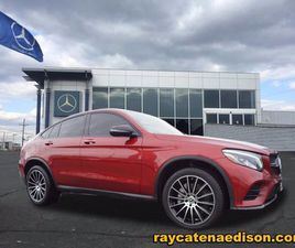 RED COLOR 2017 MERCEDES-BENZ GLC 300 COUPE 4MATIC FOR SALE IN EDISON, NJ 08817. VIN IS WDC