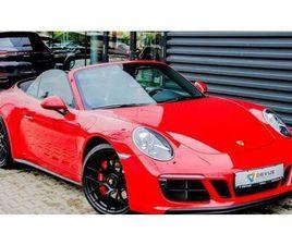 PORSCHE 911 CARRERA 4 GTS CABRIO *CHRONO/PASM* DESCAPOTABLE O CONVERTIBLE DE SEGUNDA MANO