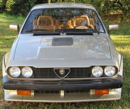 1986 ALFA ROMEO GTV6 HATCHBACK