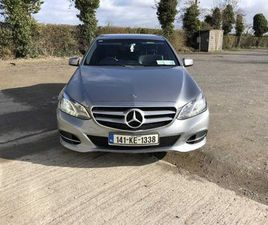 MERCEDES E200 AVANTGARDE FOR SALE IN KILDARE FOR €15,950 ON DONEDEAL