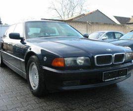BMW 750IL B7 ARMORED-ORIGINAL BMW WERK PANZERUNG