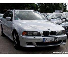 BMW SERIA 5 2.5 BENZYNA, AUTOMAT, SERWIS !!!