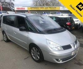 RENAULT GRAND ESPACE 2.0L DYNAMIQUE TOMTOM DCI 5D AUTO 175 BHP IN SILVER WITH 120,000