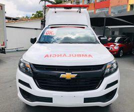 CHEVROLET S10 4X4 AMBULÂNCIA SUPORTE BASICO - 0KM - R$ 250.000