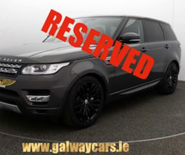 ☘️LOOK!RANGE ROVER SPORT 3.0 SDV6 HSE COMMANDSHIFT FOR SALE IN GALWAY FOR €62450 ON DONEDE