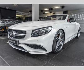AMG S 63 4MATIC CABRIOLET /LED