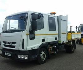 IVECO 2011 10TON CREWCAB TIPPER FOR SALE IN DOWN FOR €1 ON DONEDEAL