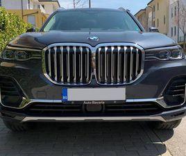 BMW X7 40I, 2019Г