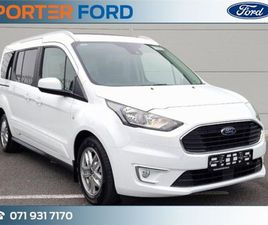 FORD TOURNEO CONNECT 1.5 TDCI 100HP LIMITED 7SEAT FOR SALE IN SLIGO FOR €41,253 ON DONEDEA