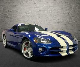 2006 DODGE VIPER SRT10 FIRST EDITION COUPE PETROL MANUAL