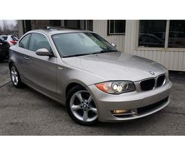 USED 2009 BMW 128I I - LOW KM! SUNROOF! LEATHER!