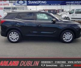NEW SSANGYONG KORANDO DIESEL FOR SALE IN DUBLIN FOR €30,999 ON DONEDEAL