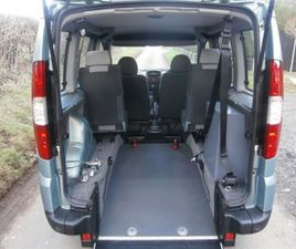 1.4 8V DYNAMIC 5DR WHEELCHAIR ACCESSIBLE VEHICLE