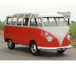 1965 VW SPLIT SCREEN '21 WINDOW SAMBA'. TYPE 24 MICROBUS DE LUXE / CAMPER VAN.