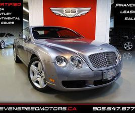 USED 2004 BENTLEY CONTINENTAL GT GT CONTINENTAL COUPE | NAVI | 43KMS ONLY | CERTIFID | 905