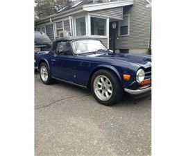 FOR SALE: 1973 TRIUMPH TR6 IN CADILLAC, MICHIGAN