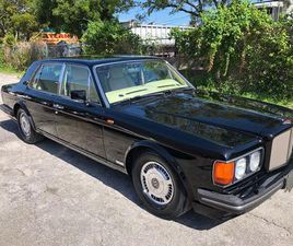 FOR SALE: 1990 BENTLEY TURBO R IN FORT LAUDERDALE, FLORIDA