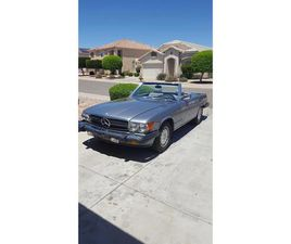 FOR SALE: 1987 MERCEDES-BENZ 560SL IN WEST PITTSTON, PENNSYLVANIA